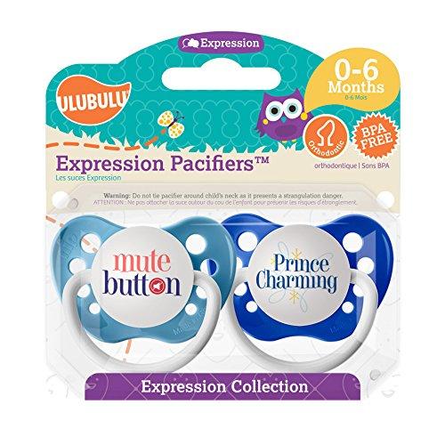 Ulubulu Pacifier Button Prince Charming