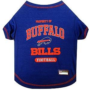 NFL BUFFALO BILLS Dog T-Shirt, Medium