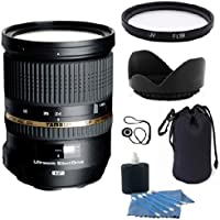 Tamron 24-70mm f/2.8 Di Lens for Nikon Cameras (Model A007N) - International Version (No Warranty) + Celltime Deluxe Accessory Bundle & 6 Year Celltime Warranty