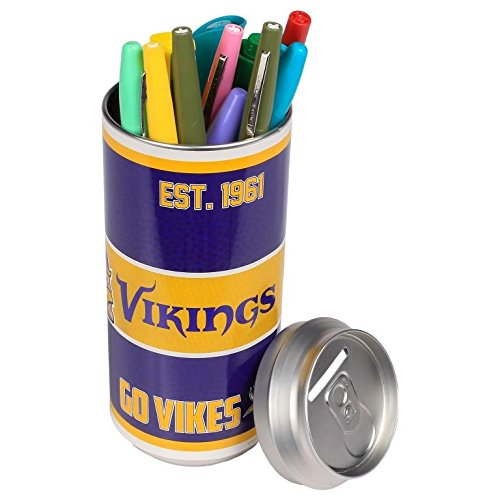 NFL Football 2015 Thematic Soda Can Bank - Pick Team (Minnesota Vikings)