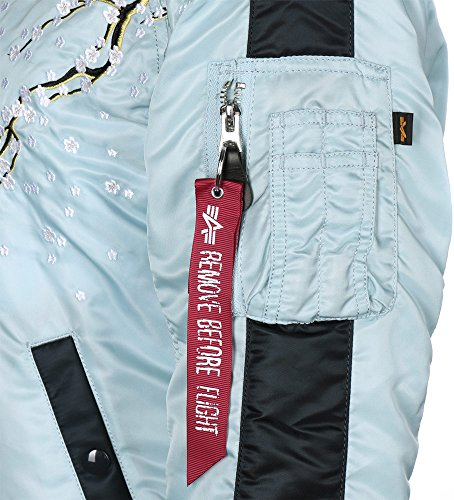 W 1 Giacca Bomber Blue Ma Air Alpha Industries Souvenier 4qxEFWwHI