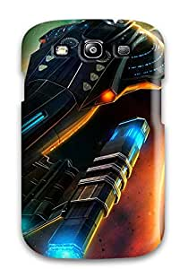 New Style Special Skin Case Cover For Galaxy S3, Popular Star Trek Online Game Phone Case