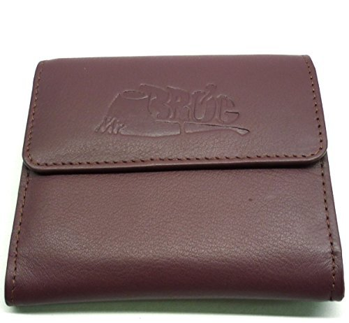 Sheep Napa Leather Tobacco Pouch with Rubber Lining to Preserve Freshness by Mr. Brog (Sheep Napa Leather)