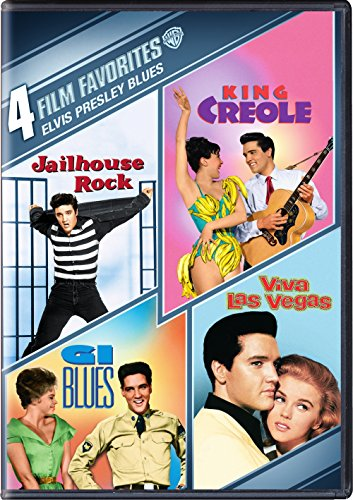 4 Film Favorites: :Elvis Presley Blues: G.I. Blues/ King Creole/ Jailhouse Rock/ Viva Las Vegas (DVD)]()
