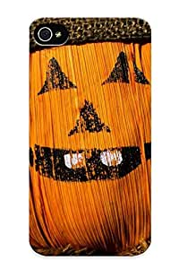 Crazinesswith Durable Scarecrow Back Case/ Cover For Iphone 4/4s For Christmas' Gifts
