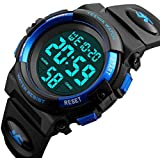Kids Digital Watch - 100FT Waterproof LED Sport...