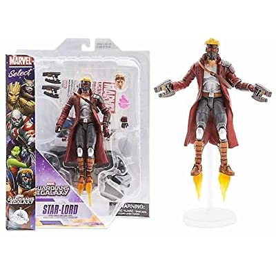Marvel Star-Lord Action Figure - Guardians of the Galaxy - Marvel Select - 7 Inch: Toys & Games