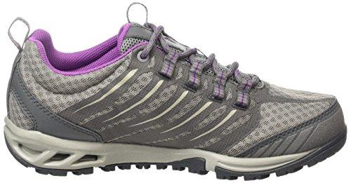 Columbia Kvinna Ventrailia Rakkniv Outdry Textil Utomhus Sneakers Grå