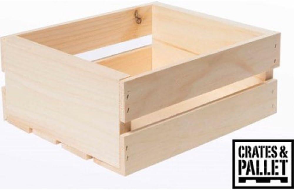 Crates and Pallet Jarras y palet 11.75 x 9.62 x 4.81 pulgadas ...