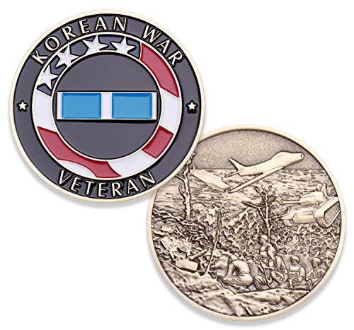 Korean War Challenge Coin - Korean War Veteran Military Coin - Amazing 1.75