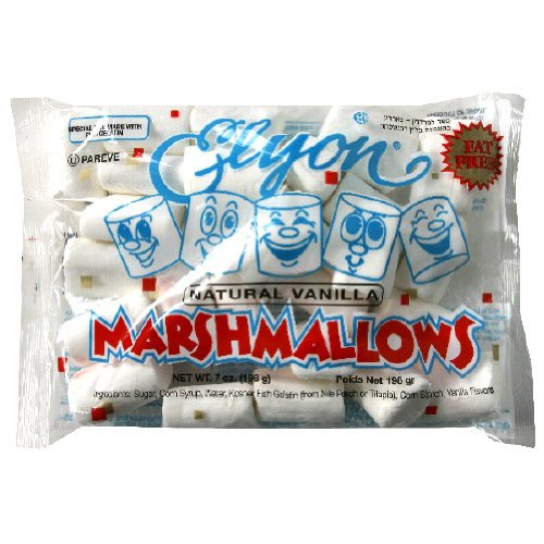 Elyon Natural Regular Marshmallow, 7 Ounce -- 12 per case. by Elyon