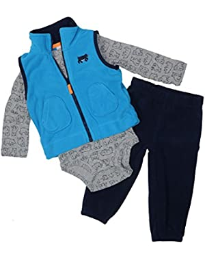 Carter's Baby Boys' 3 Piece Vest Set (Baby)