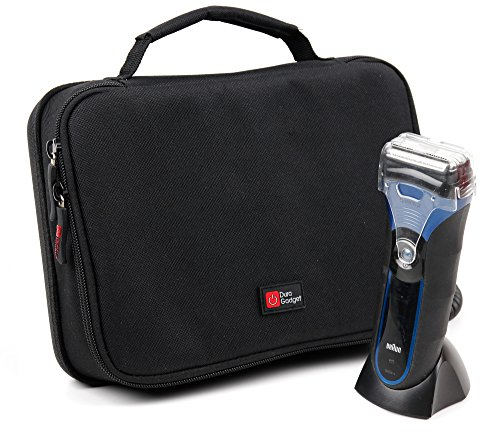 Price comparison product image Protective EVA Shaver Case (in Red) - Compatible with Philips Norelco 1150X / 40 Shaver 6100 / Oneblade QP2530 / 30 / PowerTouch PT860 / 16 / SatinShave BRL180 / 00 - by DURAGADGET