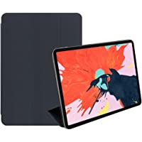 PINHEN Cover for iPad Pro 11 inch Case - Strong Magnetic Adsorption Slim Lightweight Smart Folio Shell Trifold Stand Cover for Apple iPad Pro 11 inch 2018 (Magnetic Grey)