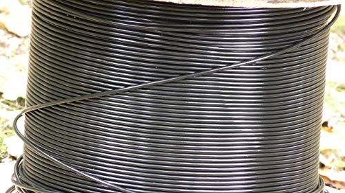 Deer Fence: Black 8 ga Monofilament Fence Wire - 1000 ft