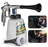 White Tornador Car Surface Cleaning Washing Air Pulse Spray Tool With Brush by ShopIdea