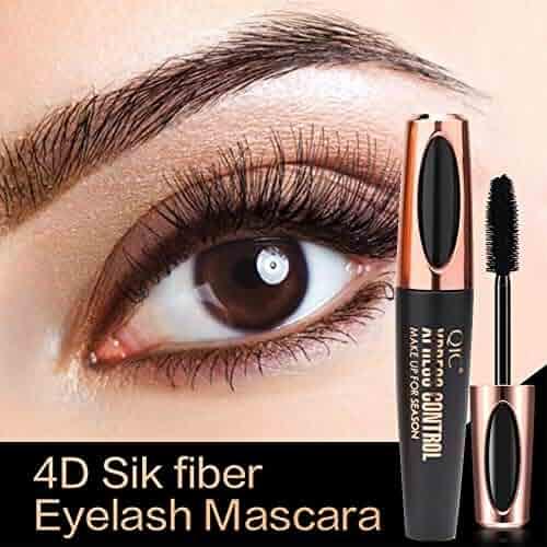 52d03fc9230 Elevin(TM)🌹🌹 4D Fiber Mascara Long Black Lash Eyelash Extension  Waterproof Eye