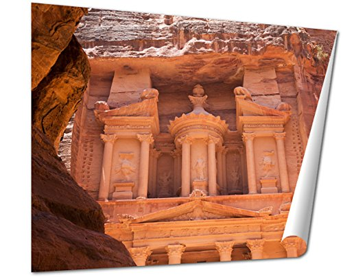 Ashley Giclee Al Khazneh In Petra Jordan wall art poster print for bedroom, ready