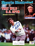 Andy North Autographed Sports Illustrated Magazine
