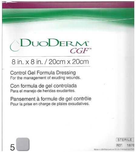 - Duoderm CGF Sterile Wound Dressing 8