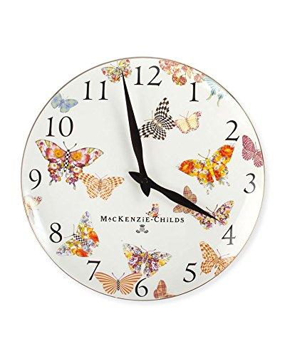 Butterfly Garden Clock by MacKenzie-Childs