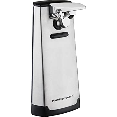 New Hamilton Beach 76700 Electric Extra Tall Can Opener Knife Sharpener Stainless