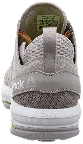 Reebok Bd4436, Zapatillas de Deporte Exterior para Mujer Gris (Gris (Whisper /         Fire Spark /         White)