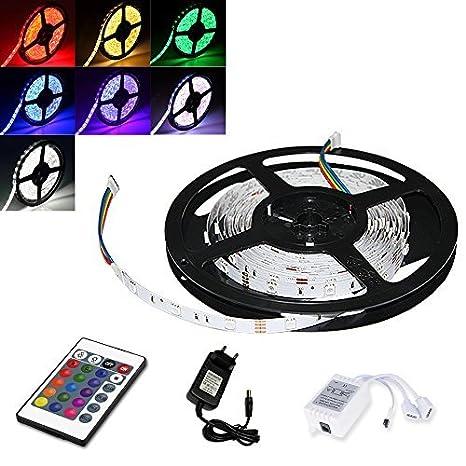 1m RGB 30LED Strip Leiste Streifen SMD Band Lichter Licht Leuchte Lichterkette