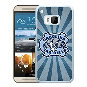 NCAA North Carolina Tar Heels 8 White Popular Custom Design HTC ONE M9 Phone Case