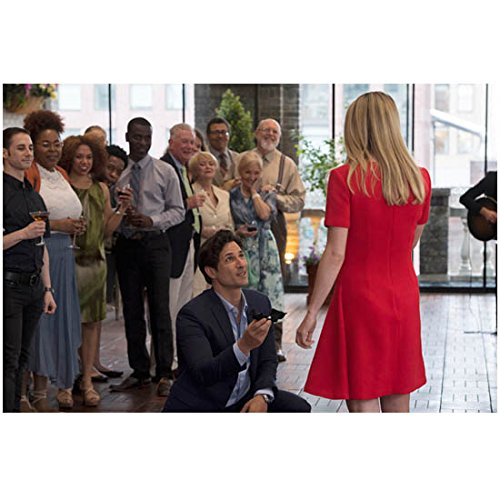 Jessica Jones Hal Ozsan as Griffin Sinclair Kneeling Down in Front of Rachael Taylor as Trish Walker 8 x 10 Inch Photo