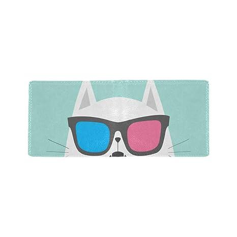 Gafas frías el Gato Gato Fresco Tarjeta de Visita Lether ...