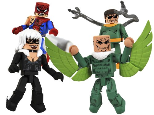 DIAMOND SELECT TOYS Marvel Minimates: Spider-Man's Friends and Foes Box Set