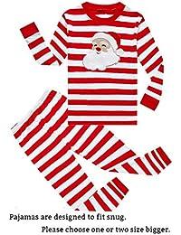 Little Boys Girls Pajamas Sets 100% Cotton Pjs