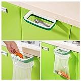 Kitchen Trash Cans,Nurbo Hanging Kitchen Cupboard Cabinet Stand Storage Garbage Bags Rack