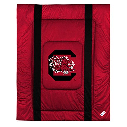 Twin Comforter Sidelines Collection - South Carolina Gamecocks Twin Size Sideline Comforter
