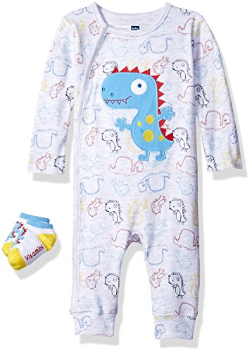Price comparison product image Vitamins Baby Boys' 2 Piece Coverall Set,  Dino,  9 Months