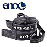 ENO - Eagles Nest Outfitters Atlas XL Hammock Straps, Suspension System, 400 LB Capacity, 13'6' x 1.5/.75'
