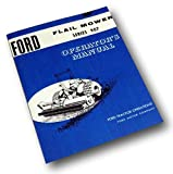Ford Flail Mower Series 907 Operators Owners Manual 5-6-7 Foot 22-123 124 125
