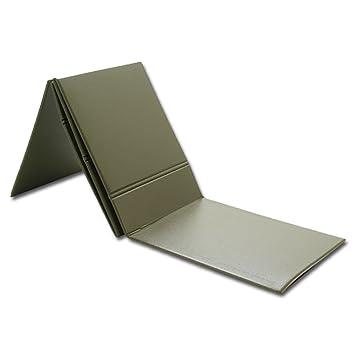 Colchoneta aislante (plegable), diseño del ejército alemán