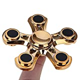 7-mmrm-light-adhd-anxiety-autism-stress-reducer-fidget-hand-five-quinary-spinner-edc-toy-gold
