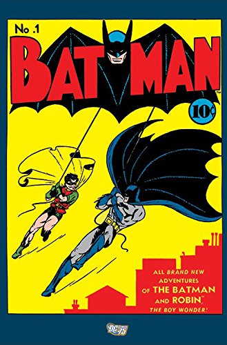 Batman - Framed DC Comics Poster / Print (Retro Style Comic Cover - Iussue No. 1) (Size: 24