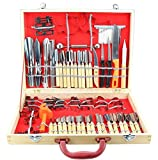 Agile-Shop Culinary Carving Tool Set Fruit Vegetable Food Garnishing / Cutting / Slicing Garnish Tools Kit (80 pcs)