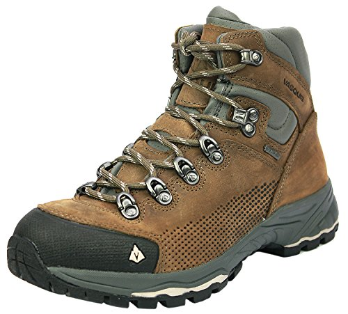 Boots Gore Hiking Waterproof (Vasque Women's St. Elias Gore-Tex Hiking Boot, Bungee/Silver,8 M US)