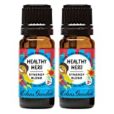 Edens Garden Healthy Hero Essential Oil Synergy Blend, 100% Pure Therapeutic Grade (Highest Quality Aromatherapy Oils), 10 ml Value Pack