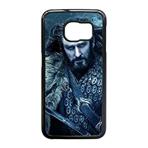 Hobbit La desolación de Smaug caso Edge R5N89V4BC funda Samsung Galaxy S6 funda negro 701112