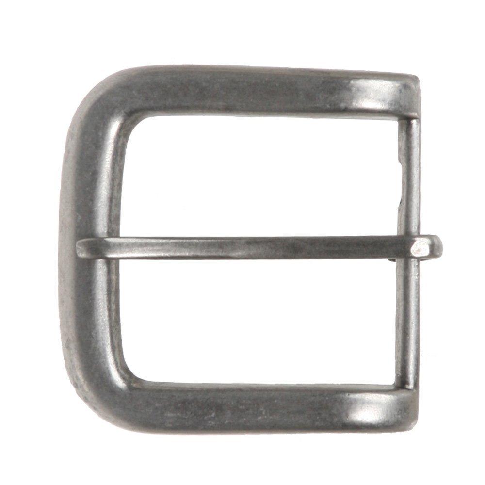 MONIQUE Men Nickel Free Single Prong Rectangular 1.5 Belt Replacement Buckle