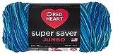 Red Heart Super Saver Jumbo Yarn, Macaw