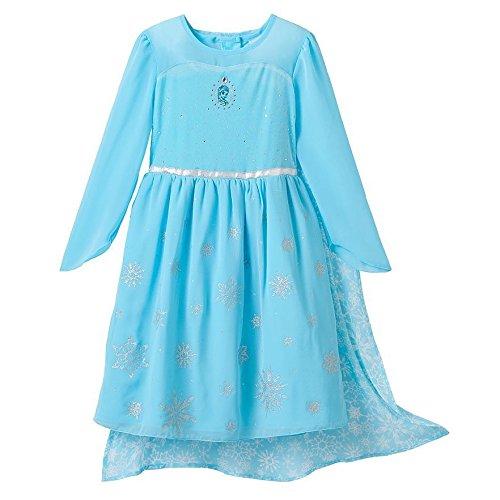 Amazon.com: Disney Frozen Elsa Disfraz Vestido de la ...