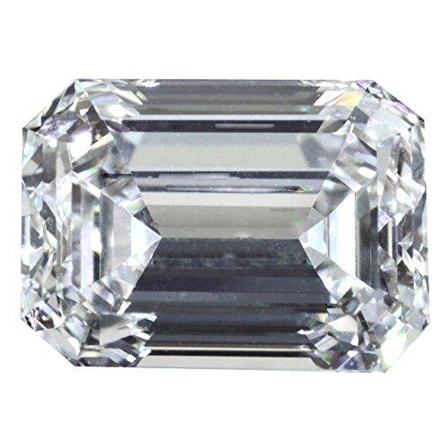 1 Carat G Color VS1 Natural HPHT Loose Diamond Emerald Cut GIA Certified