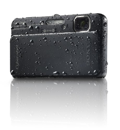 Sony Cyber-Shot DSC-TX10 16.2 MP Waterproof Digital Still Camera with Exmor R CMOS Sensor, 3D Sweep...